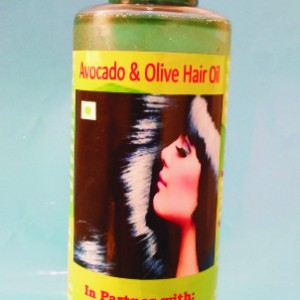 Avocado and Olive Hair Oil Picture