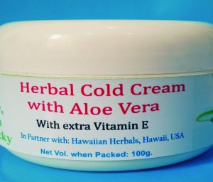 Herbal cold cream with Aloevera Cream pic