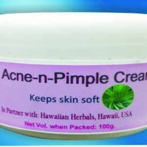 acne and pimple cream
