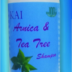 arnicia and tea tree shampoo